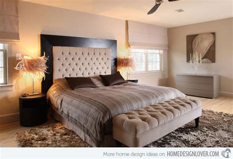 European Home Interiors by Customize Your Bedroom With 15 Upholstered Headboard