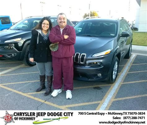 Mckinney Dodge Jeep Thank You To Luisa Aguilar On Your New 2014 Jeep Cheroke