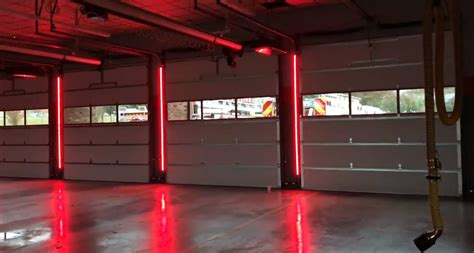 led warning lights systems marvins garage doors