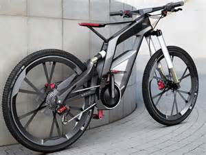 2013 audi e bike worthersee concept with wheelie mode to