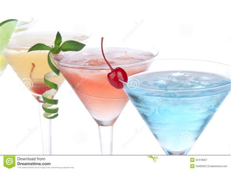 martini tropical tropical martini cocktails with vodka royalty free stock