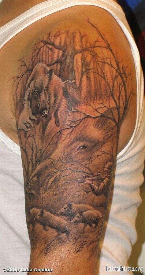 sleeve tattoo mockup best 25 deer hunting tattoos ideas on pinterest hunting