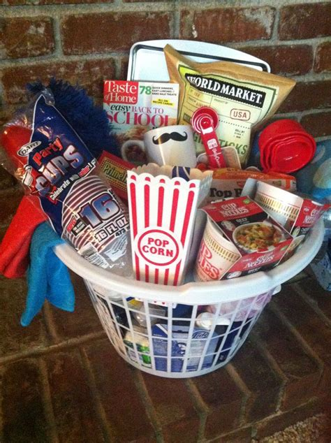 Apartment Warming Gift | college survival kit apartment warming gift gift ideas