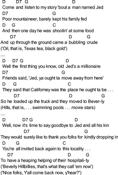 theme song beverly hillbillies fictional hillbillies
