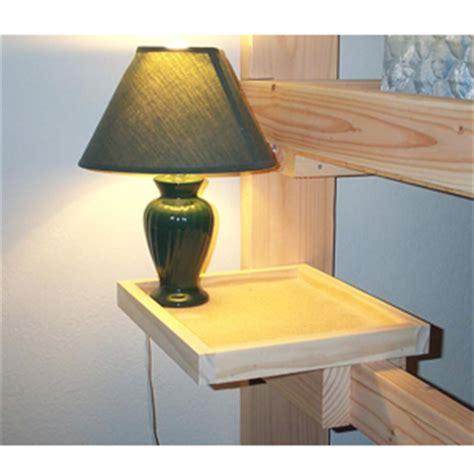 Bunk Bed Side Table Bunk Or Loft Bed Self Solid Wood L Shelf Usm Elitedecore