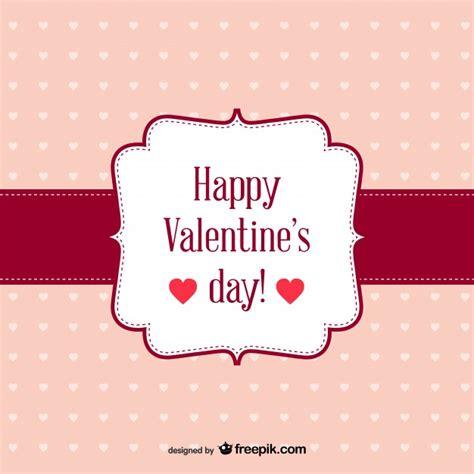 imagenes vectores san valentin feliz san valent 237 n tarjeta retro gratis descargar
