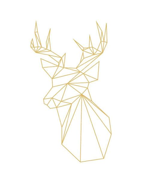 25 best ideas about geometric deer on pinterest deer tattoo art day of the dead tattoo yoe