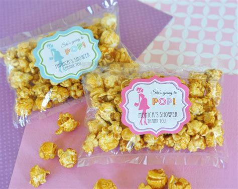 Popcorn Baby Shower Favors by Caramel Popcorn Baby Shower Favors 2 74 Baby Shower