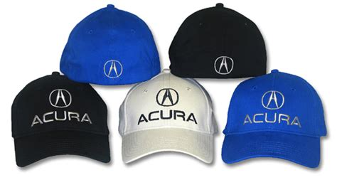 Kaos Automotive Honda Logo Unisex acura flexfit hat fitted automotive embroidered cap