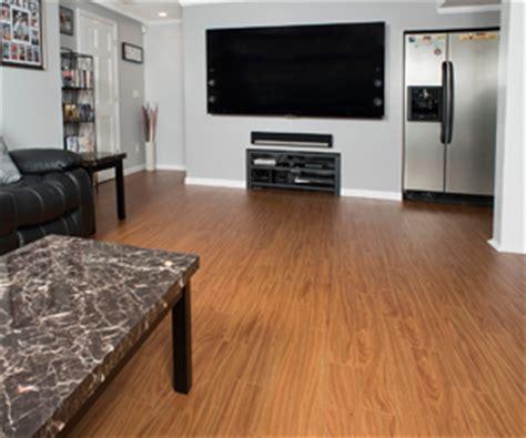 thermaldry elite plank flooring wood like basement floor
