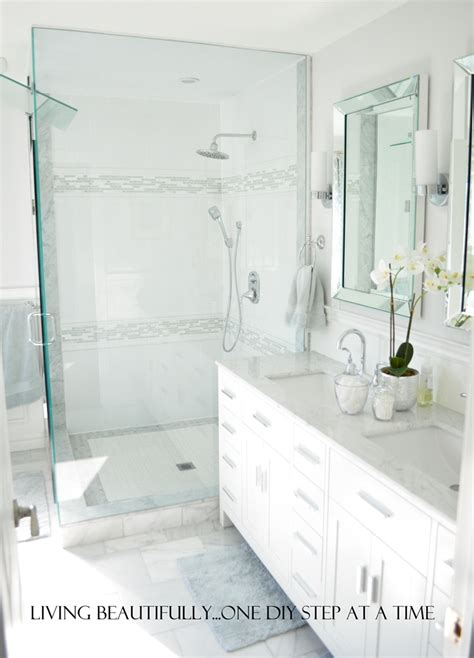 ensuite master bath before and after small bathroom makeovers big on style
