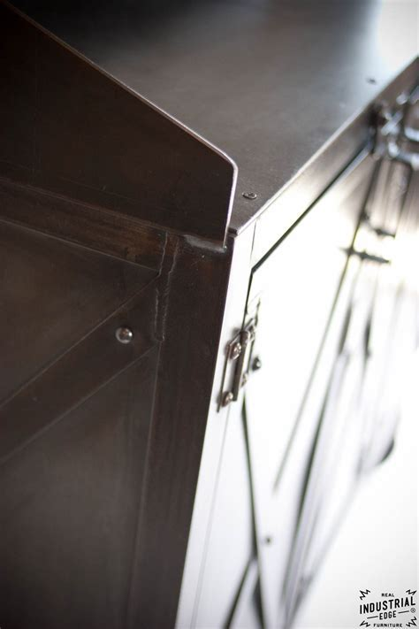 Industrial Custom Hostess Stand / Rolling / 3 Door ? Real