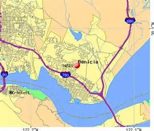 benicia california map benicia california map california map