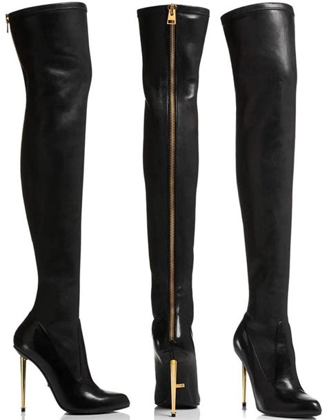 tom ford boots for grande in tom ford nappa stretch leather metal