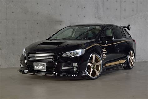 tuned subaru subaru levorg tuned by rowen tered forbidden fruit