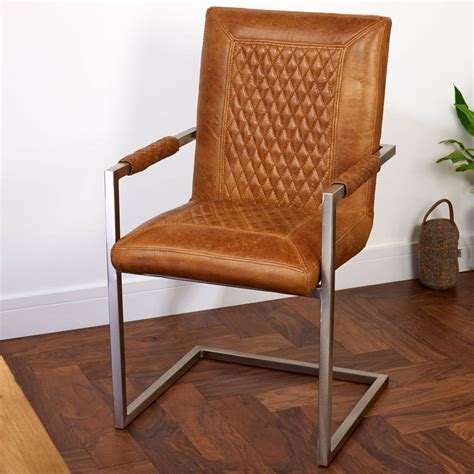 Vintage Leather Office Chair Best Home Design 2018 Leather Carver Dining Chairs