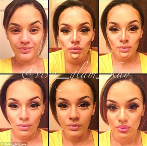 contouring tutorial instagram video tutorials show amazing transformations using just