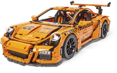 lego porsche 911 gt3 rs adac crash tested a lego porsche 911 gt3 rs ncap style