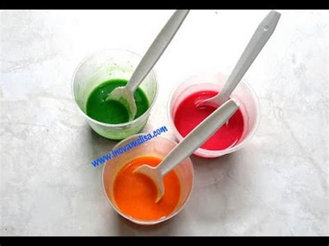 cara membuat warna coklat cat air cara membuat mainan anak mudah praktis cat warna aman