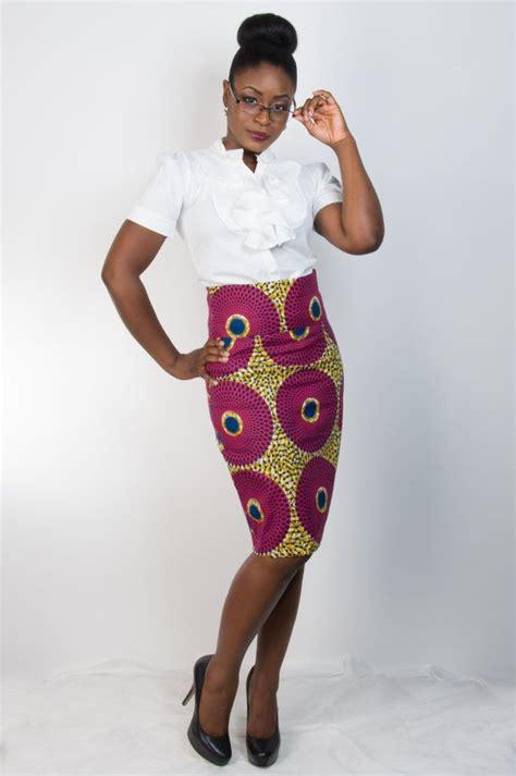 african pencil skirt styles ankara asabi skirt straight skirt african fashion