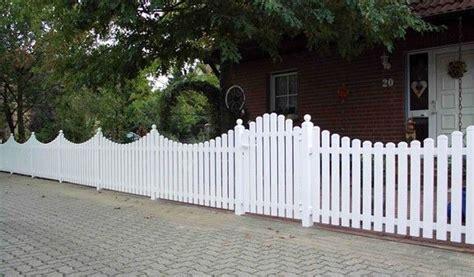 Kunststoff Gartenzaun