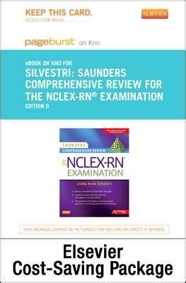 saunders q a review cards for the nclex rnâ examination 3e books saunders comprehensive review for the nclex rn