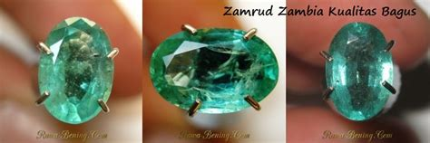 Batu Zamrud Zambia Cutting Kotak batu zamrud faktor penilaian keaslian dan kualitas