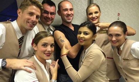 tattoo on wrist cabin crew emirates frequent flyer gets 163 13k worth of free upgrades