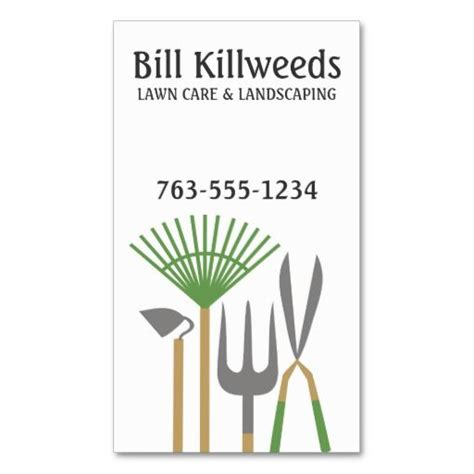 valintines card landscape templates free 10 images about lawn care business cards on