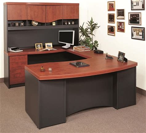 Creative Design Of U Shaped Desk For Home Office Homesfeed Home Office U Shaped Desk
