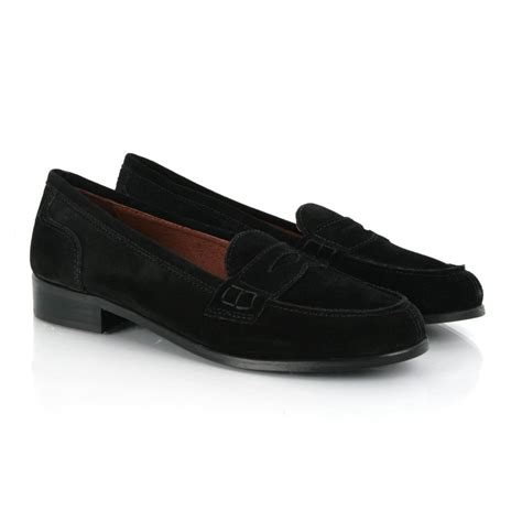 black flat loafers daniel black benton women s flat suede loafer