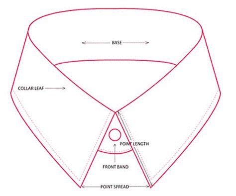 collar template s dress shirt collars