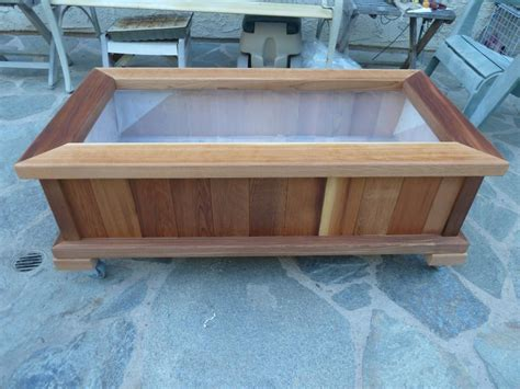 beautiful cedar planter box plans 187 home decorations insight