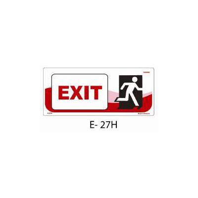 signboard exit e 27h staplesindo