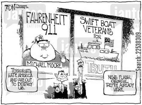 swift boat politics vietnam war cartoons humor from jantoo cartoons