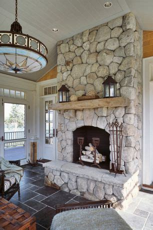 living room stone fireplace design ideas pictures