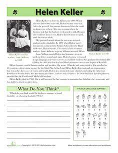 helen keller biography read online 1000 images about helen keller unit study on pinterest