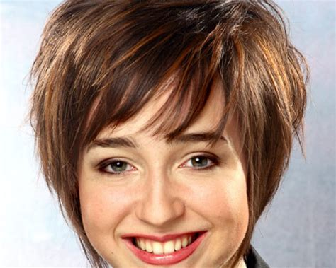 bob hairstyles with wispy ends cute bobs with wispy bangs and stacked in the back short