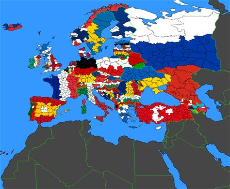 Flag Map flag map of europe colored by political subdivisions