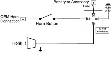 stebel horn wiring diagram wiring diagram with description