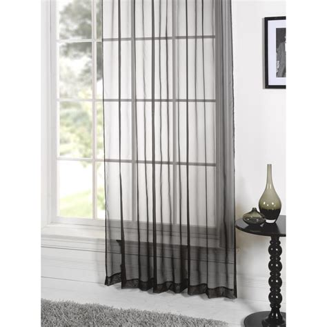 coloured voile curtains lucy plain coloured voile panel curtain