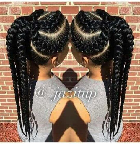 easy hairstyles with jumbo braiding hair 20 modern jumbo twists for 2017 hairstylec