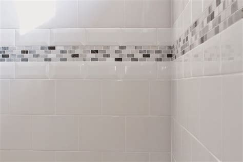 bathroom border tile ideas bathroom tiles with borders popular gray in tile border ideas bombadeagua me