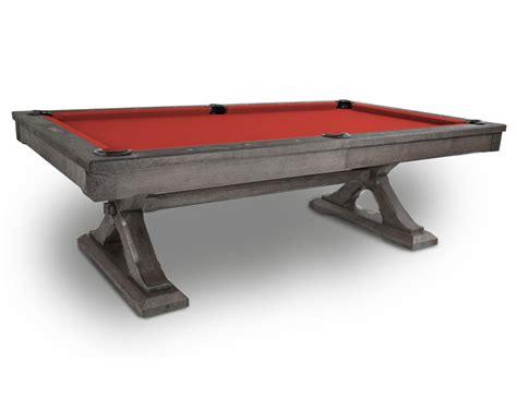 karimba oak pool table from presidential billiards