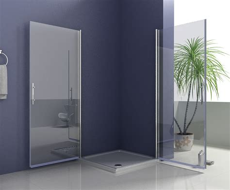 A1 Shower Door 1000x900mm Frameless Pivot Shower Door Enclosure 180 176 Swing Door Screen A1 Ebay