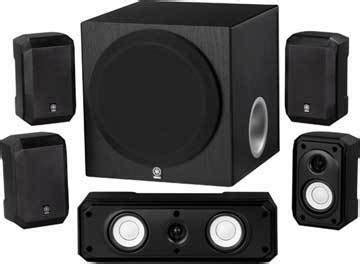 review  yamaha ns spbl  channel home theater