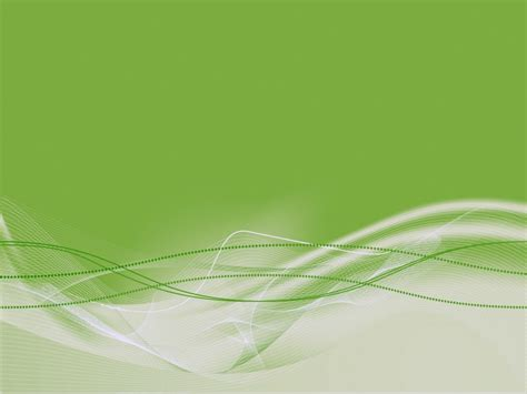 Green Light Burst Abstract Powerpoint Templates     Free