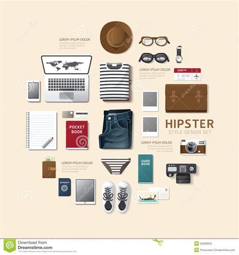 flat layout photography tag icon illustration flat design style royalty free