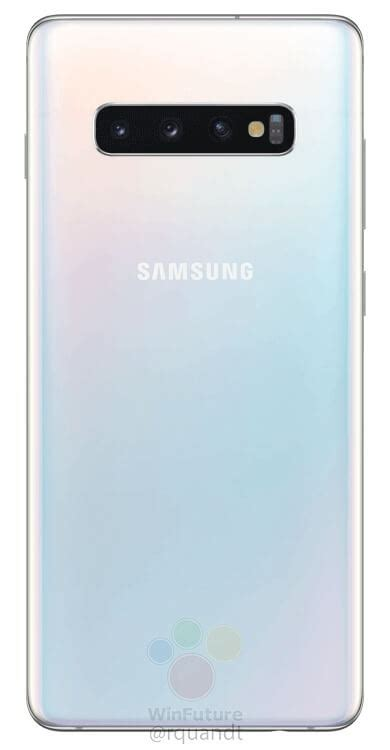 Samsung Galaxy S10 White by Samsung Galaxy S10 Renders Reveal Gradient Color Option
