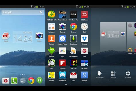 top launchers for android best android launchers 2016 for android mobiles tablets